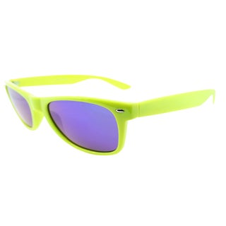 Fantaseyes 'Galato' Bright Lime Plastic Sunglasses