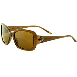 Tommy Bahama Women's 'TB7019 200' Brown Polarized Sunglasses
