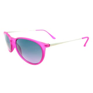 Fantaseyes Women's 'Harvard Yard' Rubberized Purple Sunglasses