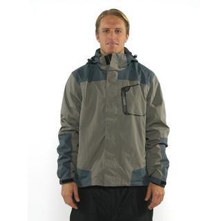 Pulse Men's 'Spire' Grey/ Charcoal Snowboard Jacket