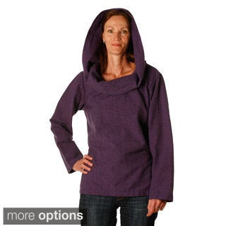 Women's Cotton Collar Hoodie (Nepal)