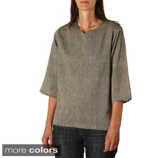 Women's Bodhi Relaxed Fit Top (Nepal)