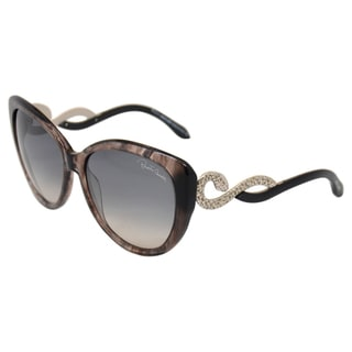 Roberto Cavalli Women's 'RC736S kurumba 20B' Smoke Grey Shaded Sunglasses