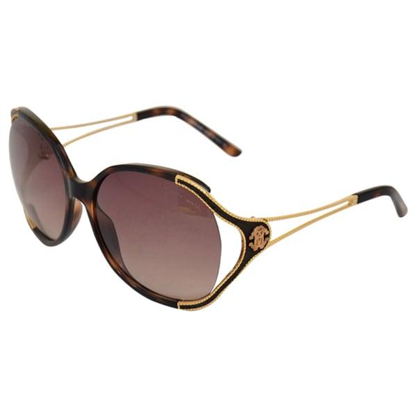 Roberto Cavalli 'RC669S Clerodendro' 53F Blond Havana Sunglasses