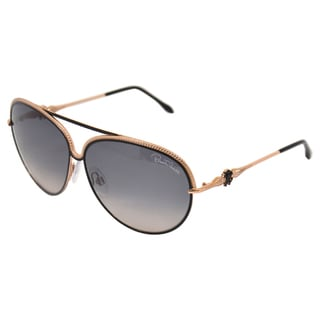 Roberto Cavalli Women's RC721S Tureia 33B - Gold/Black/Grey Azure 62-11-140 mm Sunglasses
