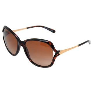 Tory Burch Women's TY 7035 510/13 Tortoise 56-17-130 mm Sunglasses