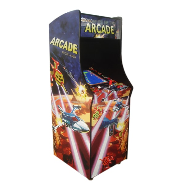 Classic Upright Arcade Game Machine with 60 Games Built-in