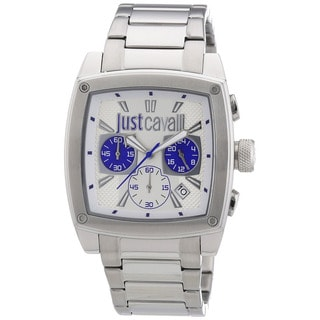 Just Cavalli Men's Pulp Stainless Steel Chronograph Date Watch