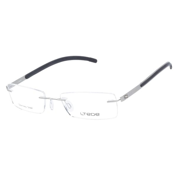 Ltede 1095 Silver Prescription Eyeglasses