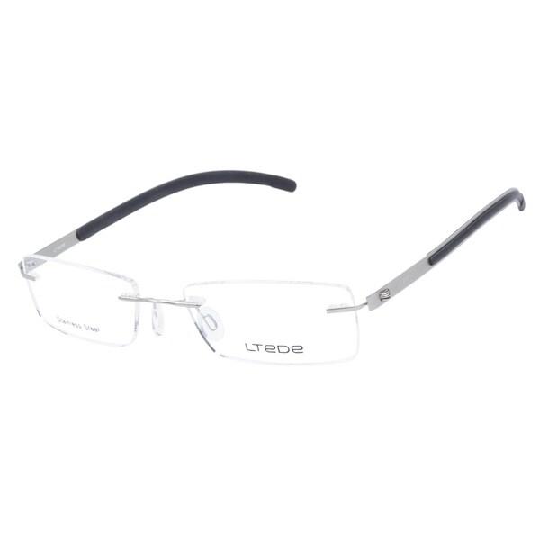 Ltede 1095 Silver Prescription Eyeglasses