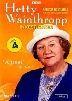 Hetty Wainthropp Investigates: Series 4 (DVD)