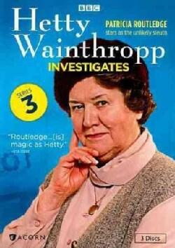 Hetty Wainthropp Investigates: Series 3 (DVD)