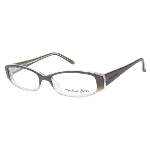 Michael Stars Untamed Clove Prescription Eyeglasses