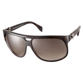 Alexander McQueen AMQ4195S 086 HA Havana Sunglasses