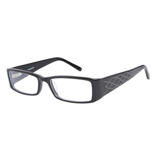 Michelle Lane ML802 Black Sparkle Prescription Eyeglasses