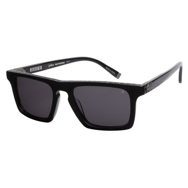 John Varvatos V779 Black 53 Sunglasses