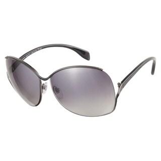 Alexander McQueen AMQ4172S N8B BD Ruthenium Black 62 Sunglasses