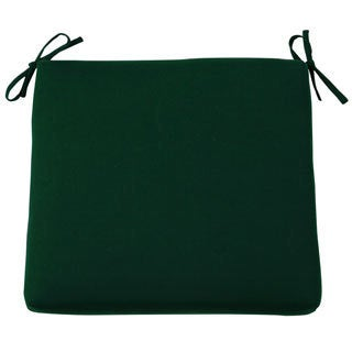 Forest Green Sunbrella Canvas Dining Chair Cushion