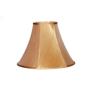 Bavarian Bronze Pongee Silk Bell Lamp Shade