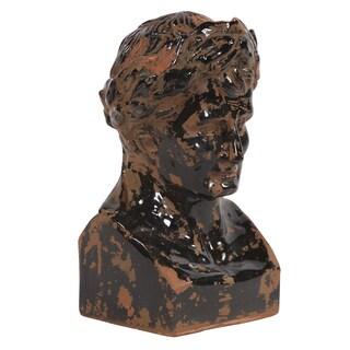 Rustic Roman Male Bust