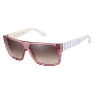 Marc by Marc Jacobs MMJ096NS V0T K8 Dark Pink Light Rose 57 Sunglasses