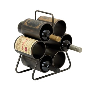 6-bottle Rustic Wine Rack