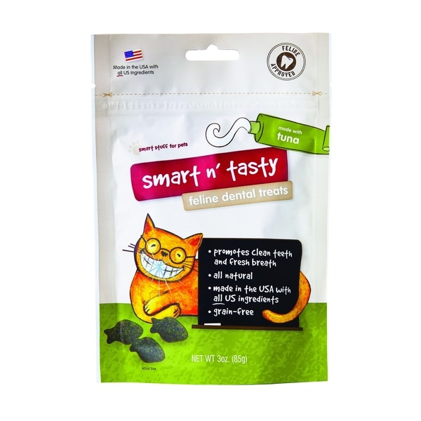 Emerald Pet Smart 'n Tasty Tuna Feline Dental Treats