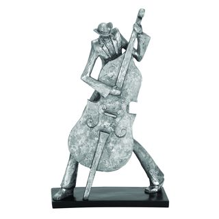 Polystone Stylish Bass Musician Figurine