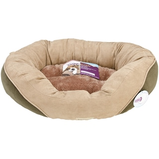 PoochPlanet SnuggleBuddy Deluxe Cuddler Pet Bed-Medium