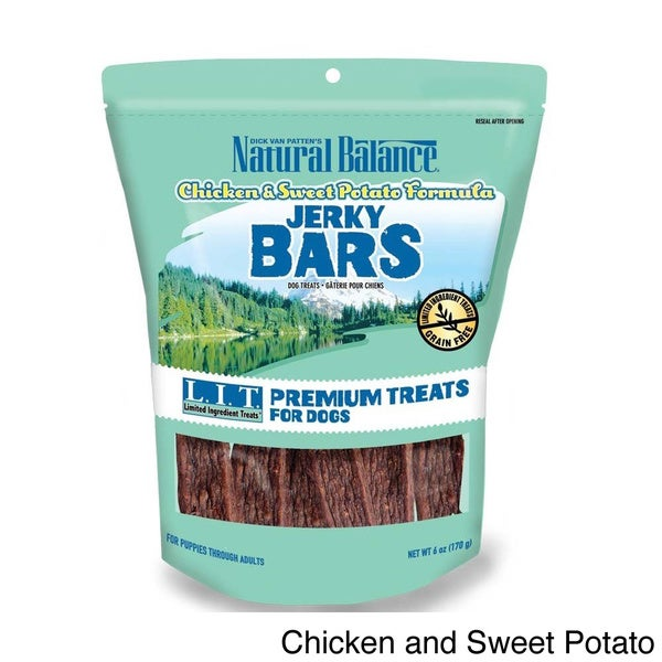 Natural Balance Jerky Bar Pet Treats
