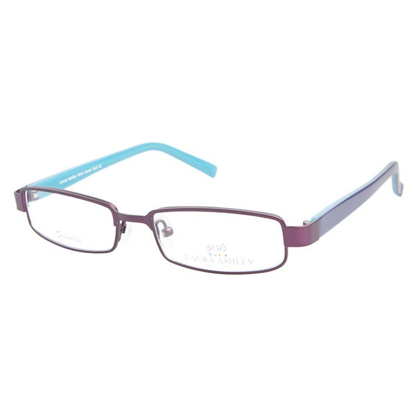 Laura Ashley Girls Honor Roll Grape Escape Prescription Eyeglasses