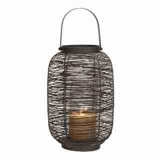 Solid Metal Modern Design Timeless Lantern