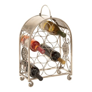 Floral Design Wine Holder