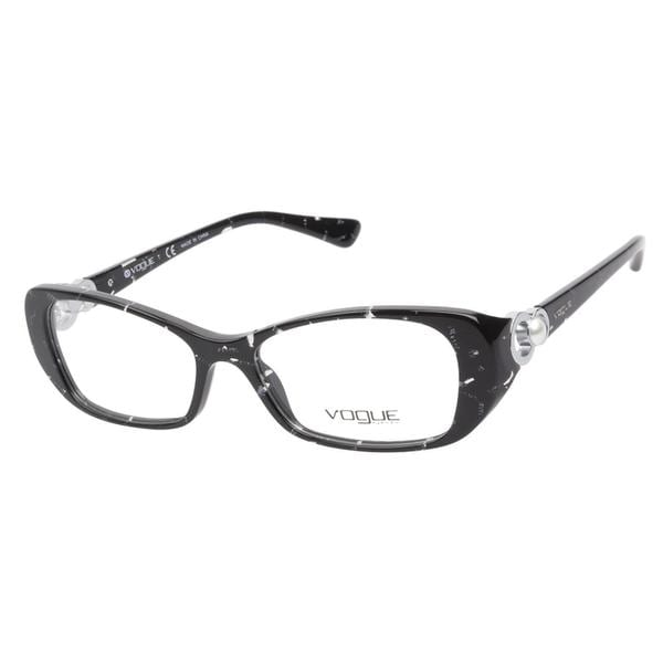 Vogue VO2808H 1567 Striped Black Prescription Eyeglasses