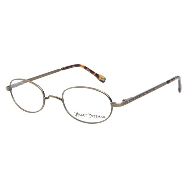 Hickey Freeman Windsor Antique Brown Prescription Eyeglasses
