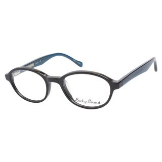 Lucky Lukas Black Prescription Eyeglasses