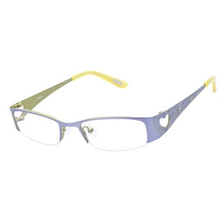 Ltede 1038 Violet Yellow Prescription Eyeglasses