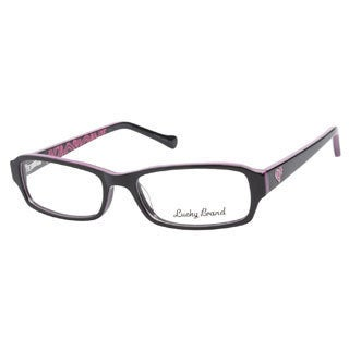 Lucky May Black Fuchsia Prescription Eyeglasses