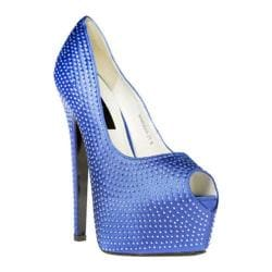 Women's Highest Heel Marquis-21 Royal Blue Genuine
