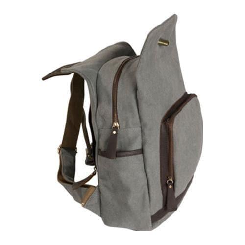 Women's Laurex Vintage Design Backpack 3301 Misty Gray
