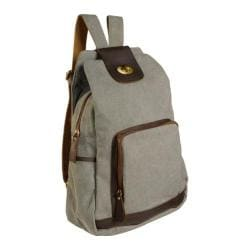 Women's Laurex Vintage Design Backpack 3301 Misty Gray