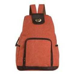 Women's Laurex Vintage Design Backpack 3301 Terra Cotta