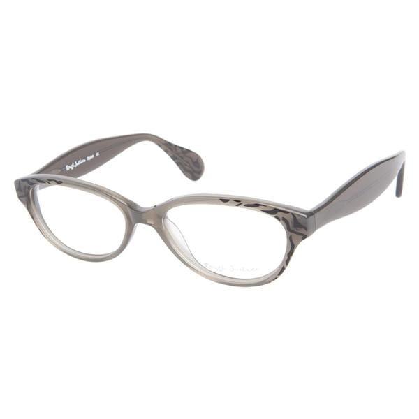 Rough Justice Stylish Grey Tiger Prescription Eyeglasses