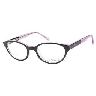 Lucky Viola Black Pink Prescription Eyeglasses