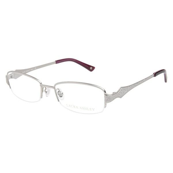 Laura Ashley Kacy Platinum Prescription Eyeglasses
