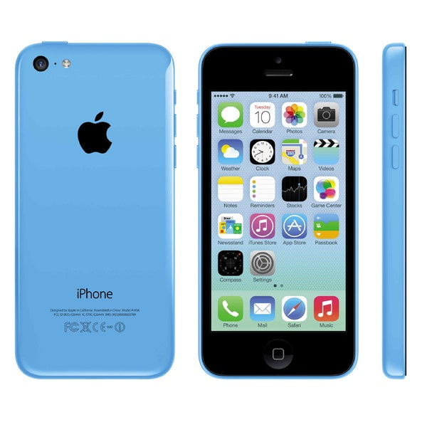 Apple iPhone 5C A1532 Blue GSM Unlocked Phone photo