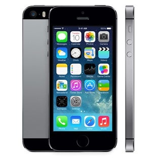 Apple iPhone 5S 16GB Unlocked GSM Silver Cell Phone