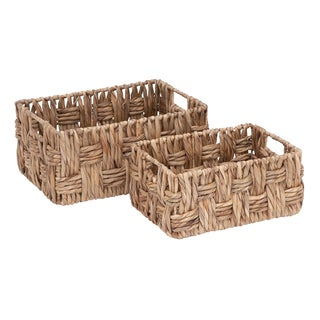 Wicker Baskets (Set of 2)
