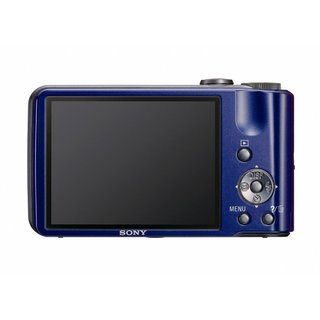 Sony Cyber Shot DSC-H70 16.1MP Blue Digital Camera (Manufacturer Refurbished)