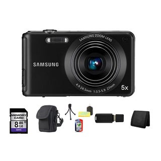 Samsung ST71 14.2MP Black Digital Camera 8GB Bundle